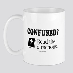 Confused? Read the directions -  Mug