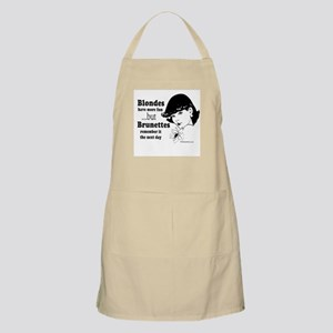 Blondes have more fun -  BBQ Apron