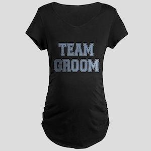 Team Groon Maternity Dark T-Shirt