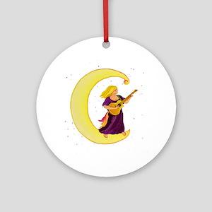Moonlight Gypsy C Ornament (Round)