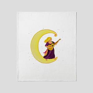 Moonlight Gypsy C Throw Blanket