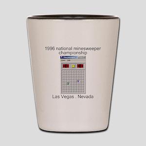 minesweeper championship Shot Glass