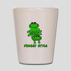 Froggy style Shot Glass