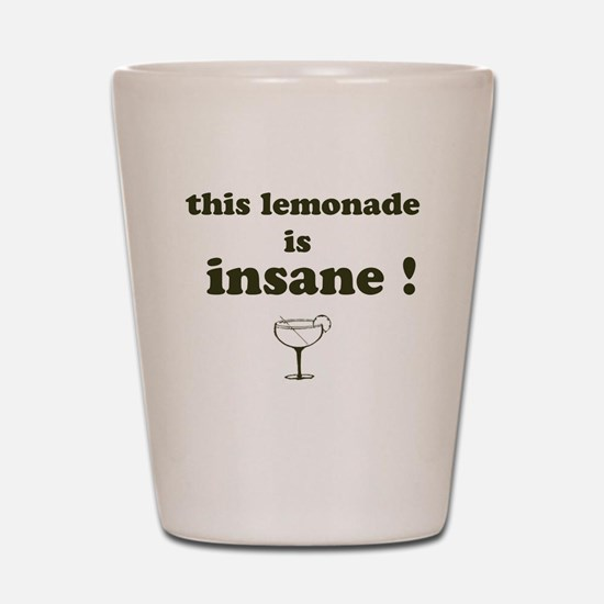 mall cop Lemonade Shot Glass