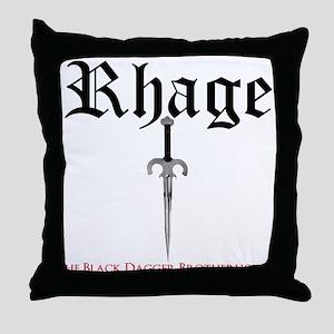 Rhage Throw Pillow