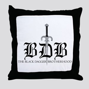 BDB LogoThrow Pillow
