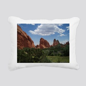 Garden of The Gods Rectangular Canvas Pillow