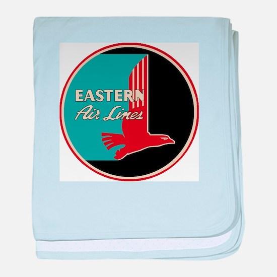 Eastern Airlines baby blanket