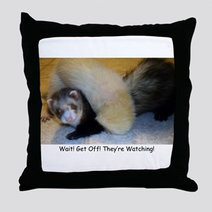 Ferrets4Pets Throw Pillow