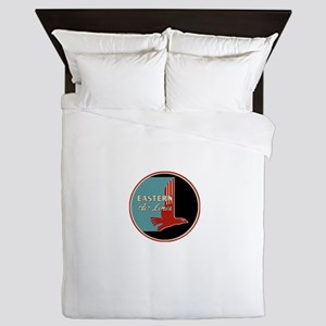 Eastern Airlines Queen Duvet