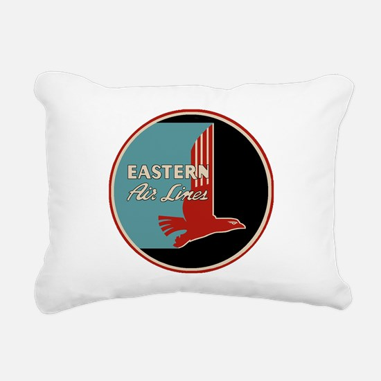 Eastern Airlines Rectangular Canvas Pillow