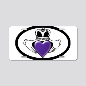 Cystic Fibrosis Research Aluminum License Plate