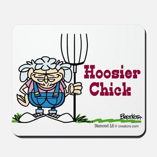 Hoosier Chick Mousepad
