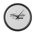 Trans Am Large Wall Clock