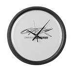 GTX Large Wall Clock