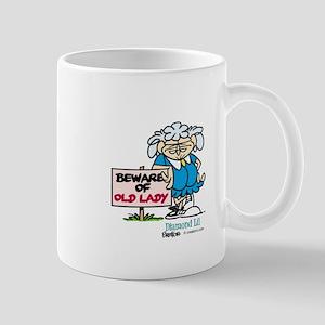 Beware of old lady Mug