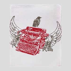 Writer Throw Blanket