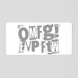 Ghost Hunting EVP Aluminum License Plate