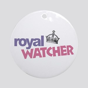 Royal Watcher Ornament (Round)