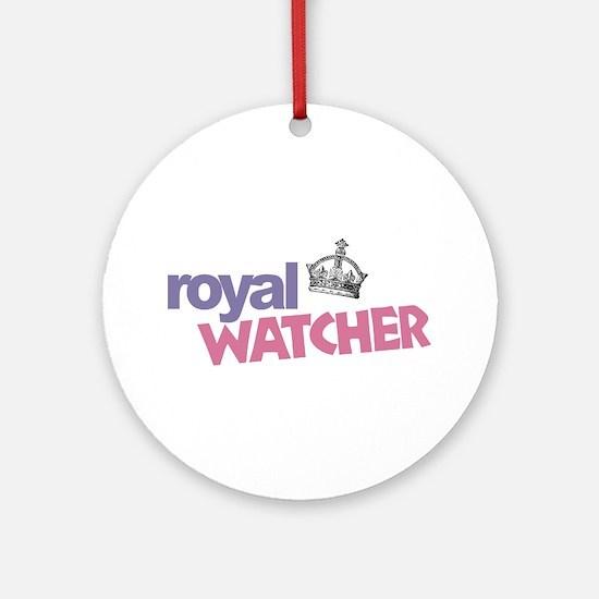 Royal Watcher Ornament (Round)