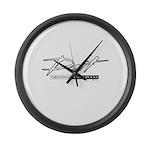 Dart Large Wall Clock