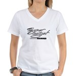 Supercharged Women's V-Neck T-Shirt