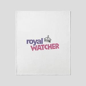 Royal Watcher Throw Blanket