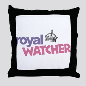 Royal Watcher Throw Pillow