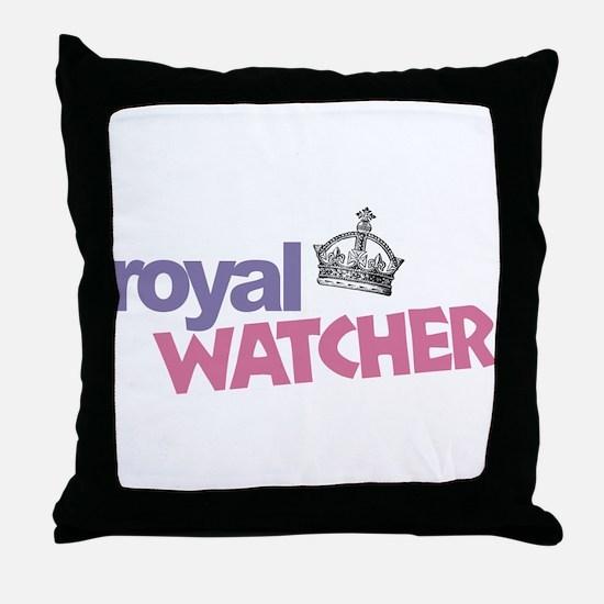 Royal Watcher Throw Pillow