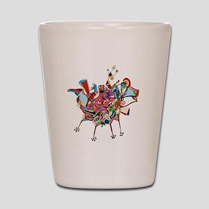 Don Quixote Shot Glass