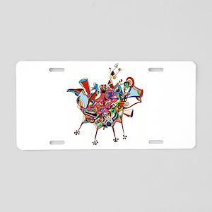 Don Quixote Aluminum License Plate
