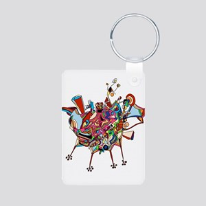 Don Quixote Aluminum Photo Keychain