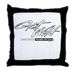 Get Wild Throw Pillow