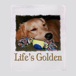 Life's Golden Throw Blanket
