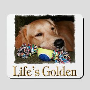 Life's Golden Mousepad