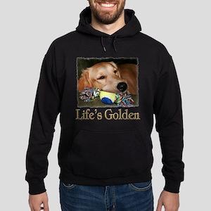 Life's Golden Hoodie (dark)