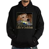 Golden retriever Dark Hoodies