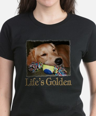 Life's Golden Women's Dark T-Shirt