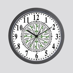 Eclectic Flower 258 Wall Clock