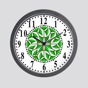 Eclectic Flower 259 Wall Clock