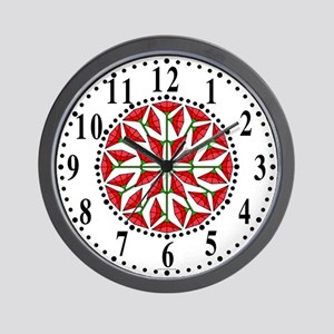 Eclectic Flower 268 Wall Clock