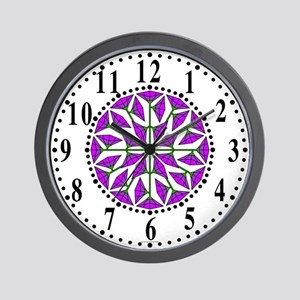 Eclectic Flower 269 Wall Clock
