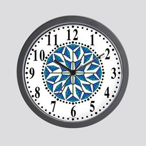 Eclectic Flower 236 Wall Clock