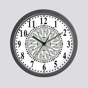 Eclectic Flower 240 Wall Clock