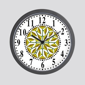 Eclectic Flower 247 Wall Clock