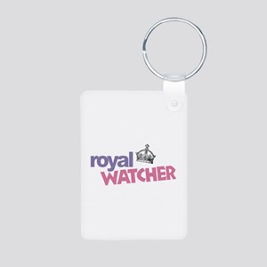 Royal Watcher Aluminum Photo Keychain