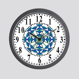 Eclectic Flower 219 Wall Clock