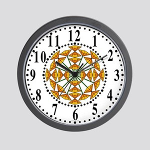Eclectic Flower 226 Wall Clock