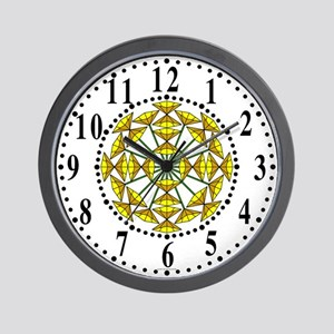 Eclectic Flower 228 Wall Clock