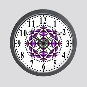 Eclectic Flower 234 Wall Clock
